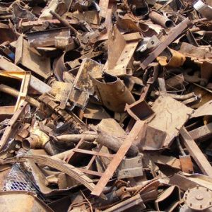 In the ferrous metals industry there are many applications of external recycling. Scrap steel makes up a significant percentage of the feed to electric arc and basic oxygen furnaces. The scrap comes from a variety of manufacturing operations that use steel as a basic material and from discarded or obsolete goods made from iron and steel.