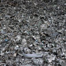99% metallic, shredded auto al. castings